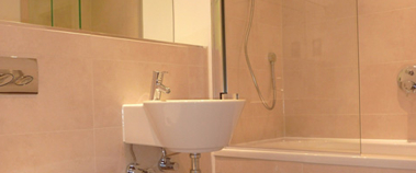 Bathroom 1-Bedroom Apartment 42 Sq.m. Latitude Serviced Apartments