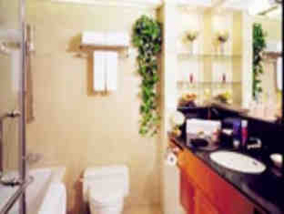 Bathroom 1-Bedroom Apartment 117 Sq.m. Lee Garden Service Apartments Beijing