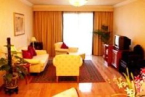 Living Area 1-Bedroom Apartment 117 Sq.m. Lee Garden Service Apartments Beijing