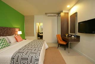 Room area Studio Apartment 27 Sq.m. Legacy Express Bangkok