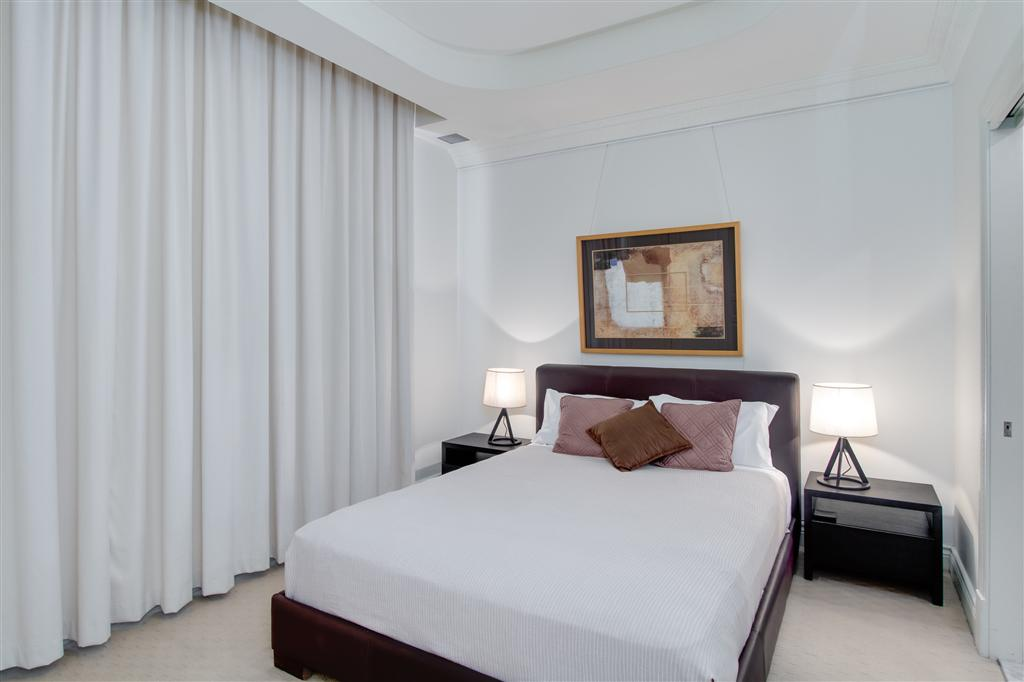 Relax in Style and Comfort in the perfect central location.Escape from the bustling streets of Brisbane City to an executive apartment in our Heritage building that offers our guests a home away from