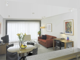 Living Area 1-Bedroom Apartment 57 Sq.m. Medina Grand Sydney