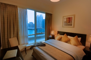 Bedroom 3-Bedroom Apartment 123 Sq.m. Nuran Marina Serviced Residences