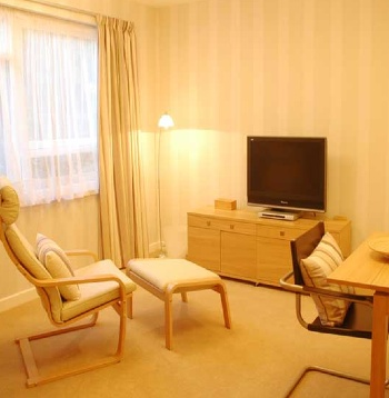 Living Area Studio Apartment 30 Sq.m. Oakfield Court Apartment Hotel
