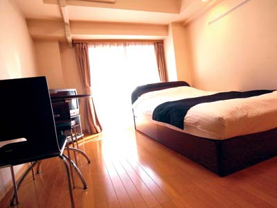 Sleeping Quater Studio Apartment 31 Sq.m. PALACE STUDIO Shinjuku Parkside