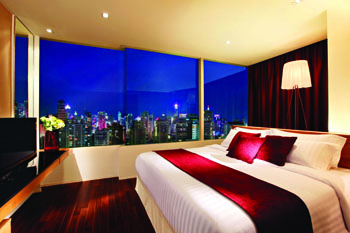 Pan Pacific Serviced Suites is one of the best serviced apartments in Bangkok. The serviced accommodation offers world class facilities. The hotel offers up to 148 apartments in varying floor plans an