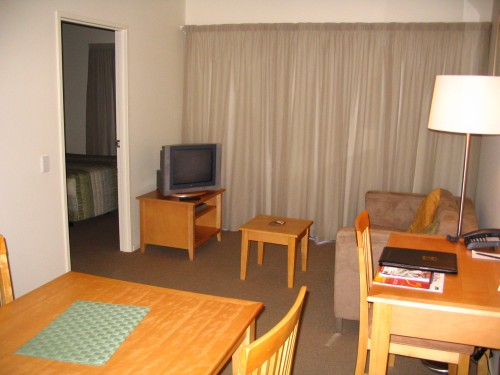 This property superbly appointed serviced apartments will ensure your Darwin experience is a stylish and comfortable one. All one, two and three bedroom apartments feature separate living & dining are