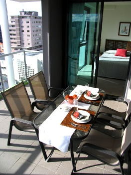 Guests are offered the choice of spacious 1 and 2 bedroom serviced apartments.  All apartments are of the highest standards for your comfort and offer guests fully equipped kitchen and laundry facilit
