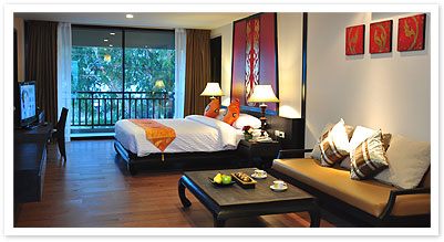 Junior Suite Studio Apartment 68 Sq.m. Royal Thai Pavilion Jomtien