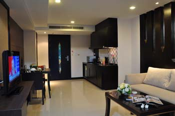 Superior Room 1-Bedroom Apartment 80 Sq.m. Royal Thai Pavilion Jomtien