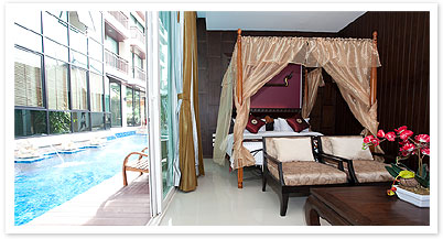 Pool Villa Studio Apartment 55 Sq.m. Royal Thai Pavilion Jomtien