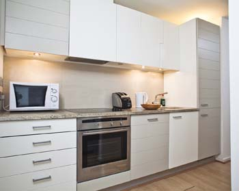 Kitchen 2-Bedroom Apartment 70 Sq.m. Seacon Towers Serviced Apartments