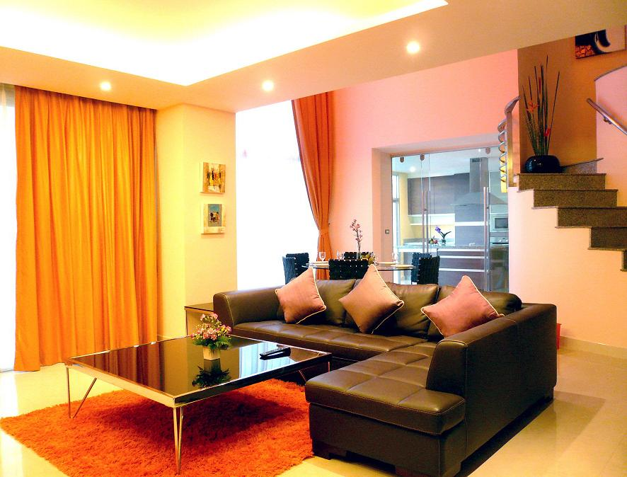 Type D-2 Bedrooms Duplex 3-Bedroom Apartment 300 Sq.m. Seven Place Executive Residence