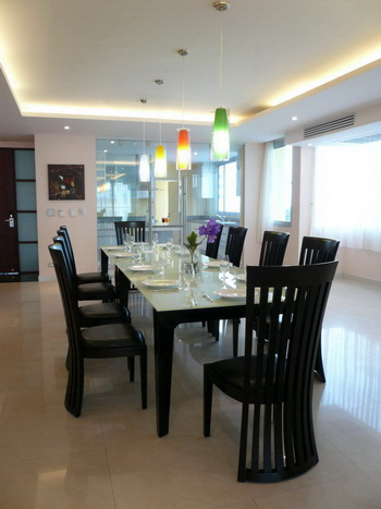Type E - Dining 3-Bedroom Apartment 300 Sq.m. Seven Place Executive Residence