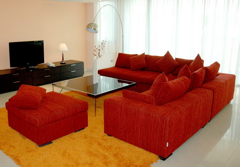 Type E - Living 2 3-Bedroom Apartment 300 Sq.m. Seven Place Executive Residence