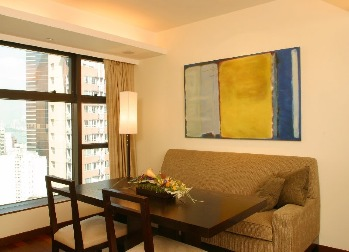 Dining Area 2-Bedroom Apartment  Sq.ft. Shama Central