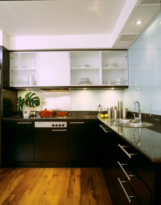Kitchen 2-Bedroom Apartment 110 Sq.m. Siri Sathorn A Beaufort Serviced Residence