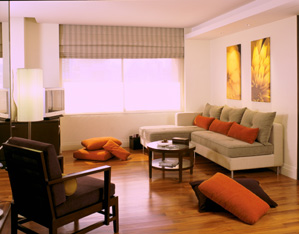 Living Area 2-Bedroom Apartment 110 Sq.m. Siri Sathorn A Beaufort Serviced Residence