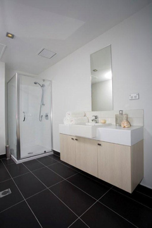 Bathroom Studio Apartment 46 Sq.m. Stadium Waldorf Apartments Hotel