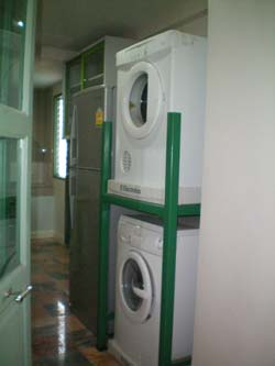Laundry in unit 2-Bedroom Apartment 135 Sq.m. Supapen Mansion