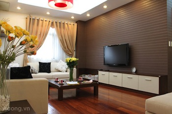 Living Room Studio Apartment 40 Sq.m. Thaison Palace Hotel