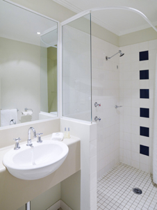 Bathroom Studio Apartment 0 Sq.m. Travelodge Phillip Street
