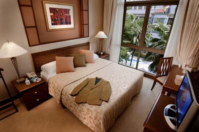 Bedroom 3-Bedroom Apartment  Sq.ft. Treetops Executive Residences
