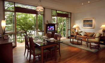 2 Bedroom Living area 2-Bedroom Apartment  Sq.ft. Treetops Executive Residences