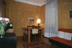 old restored building This  one-bedroom serviced apartment is 45 sq.m ,  and can sleep 2 people maximum.  The apartment has 1 bathroom. The minimum length of stay for this apartment is 1 Night(s).