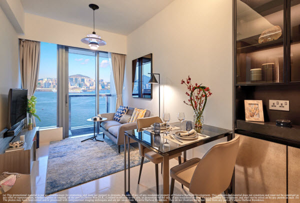 Four Seasons Place Hong Kong Gardeneast Serviced Apartments Victoria Harbour Residence
