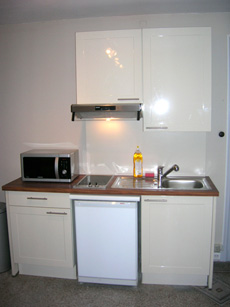 Kitchen Studio Apartment 35 Sq.m. Villa Primavera (Montgomery)