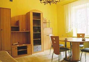 1-bedroom modern style apartment (comfortable for 1-4 Persons) This  studio serviced apartment is 0 sq.m ,  and can sleep 2 people maximum.  The apartment has 1 bathroom. The minimum length of stay fo