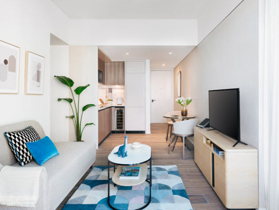 Convenience and connections. Community and Synergies. Fundamentals and desirables. Life is a breeze at Waterfront Suites.Imagine life waking up to the smell of coffee, savouring breakfasts in lounge,
